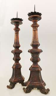 I-05-56 Pair of Italian Pricket Sticks