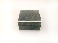 IX-03-58 English Chagreen Box (Sharkskin) View 4 smaller box