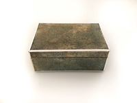 IX-03-57 English Chagreen Box (Sharkskin) View 2 closed