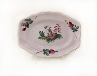 II-97-126 French Moustier Presentation Plate