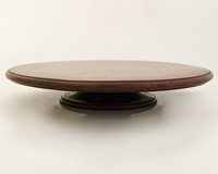 I-08-100 English Mahogany Lazy Susan