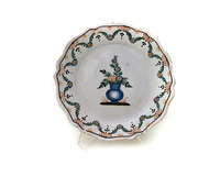 II-6038 French Faience Plate
