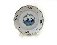 II-6041 French Faience Plate