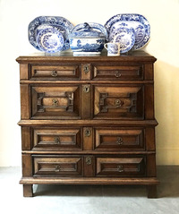 III-04-03 Oak Chest of Drawers