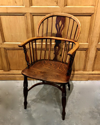 III-06-118 Ash & Elm Windsor Chair - View 2
