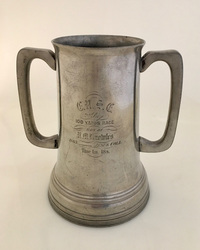 IV-09-24 English Pewter Loving Cup