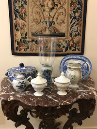 Antique Pottery:  French English and Terracotta