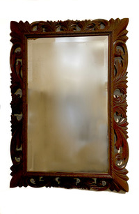 III-00-33 Carved Dutch Mirror