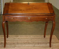 III-06-55 French Walnut Louis XVI Desk