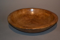 I-18-12 18th Century Sycamore Dairy Bowl