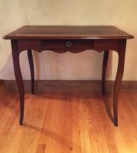 III-04-231 Louis XV Mulberry Side Table with drawer