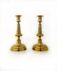 IV-04-50 Brass Candlesticks